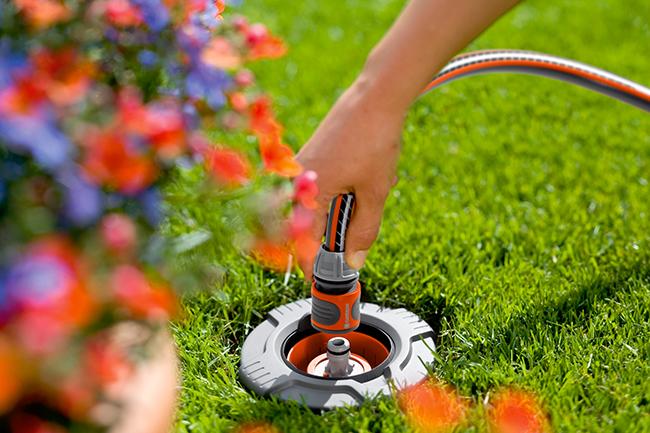 gardena pipeline water irrigation connectors world of watering. Black Bedroom Furniture Sets. Home Design Ideas