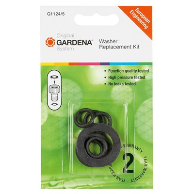 "Gardena 3/4"" Washer & 9mm O-Rings"