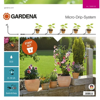 Gardena Starter Set Terrace Basic