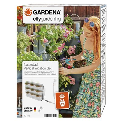 Gardena NatureUp! Irrigation Set Vertical Water Tap