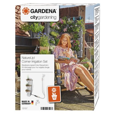Gardena NatureUp! Irrigation Set Corner Water Tap