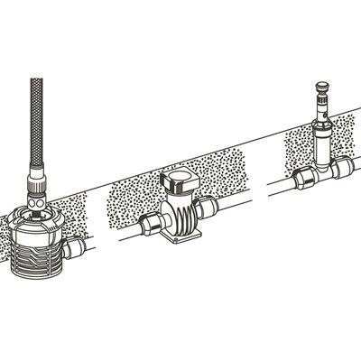 Gardena 1510-20 Sprinklersystem Central Filter